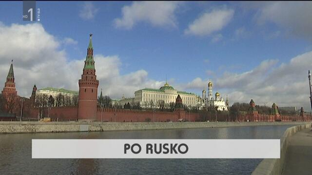 «По-русски» в передаче «Тедник».   po rusko, oddaja tednik, tv slo 1