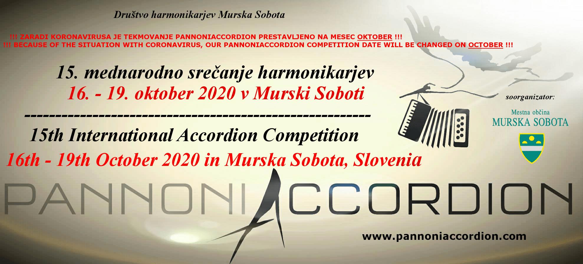 15 международный конкурс аккордеонистов pannoniaccordion 2020